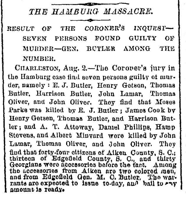 The Hamburg Massacre | CSI: Dixie
