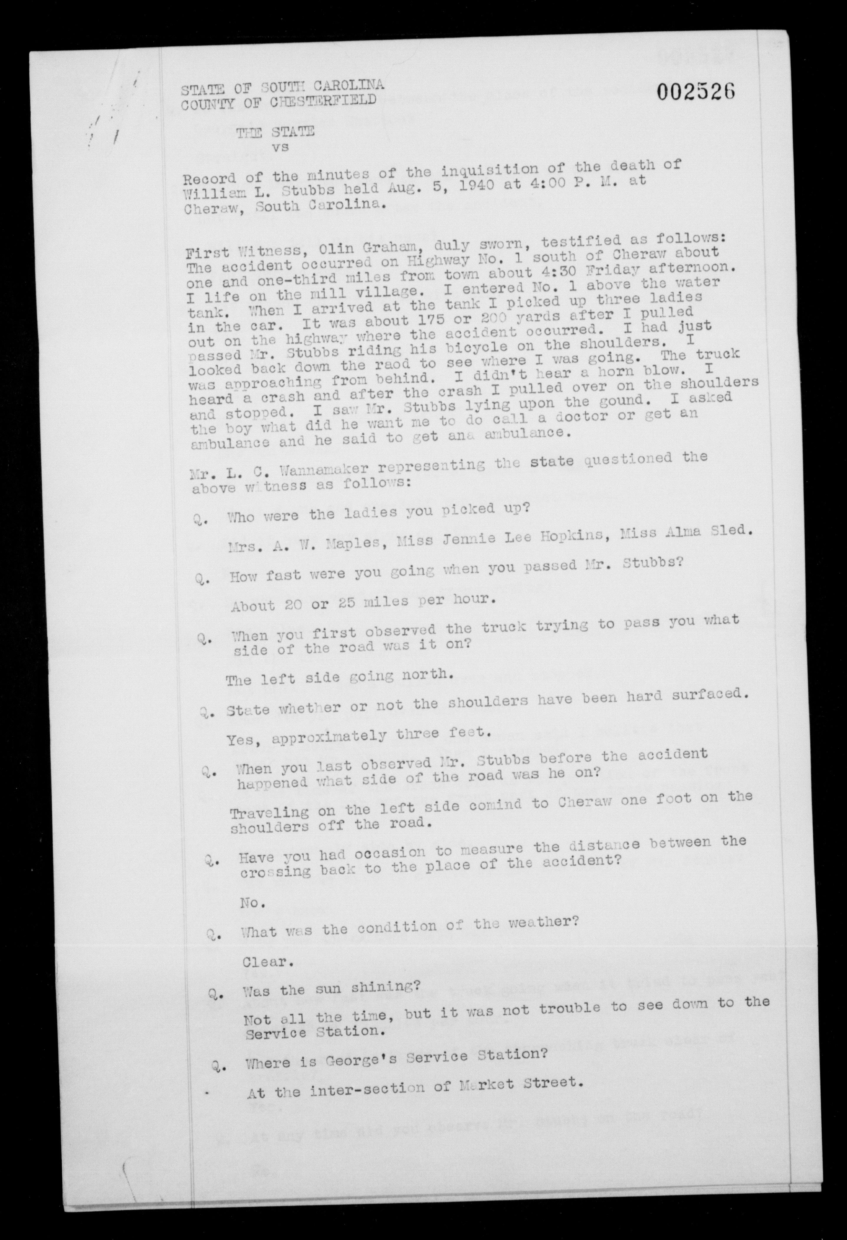 The State vs  the Dead Body of William L  Stubbs Sr  | CSI
